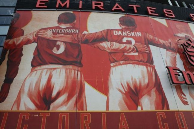 Burntisland fife david danskin for Emirates stadium mural