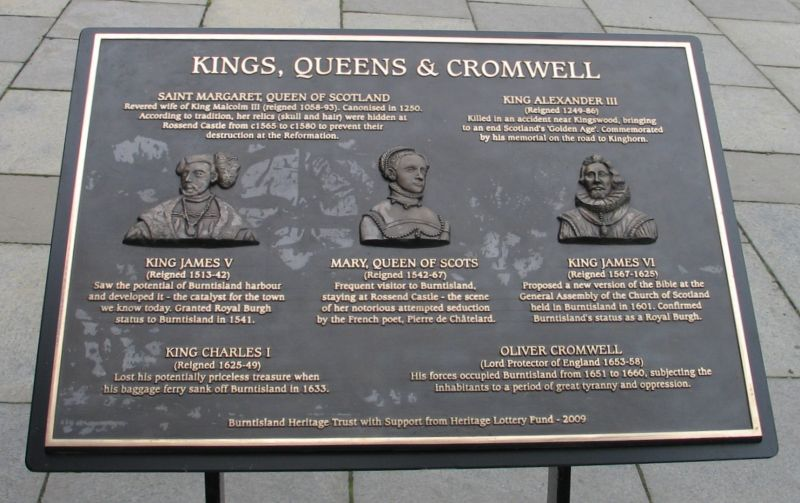 Kings, Queens & Cromwell panel