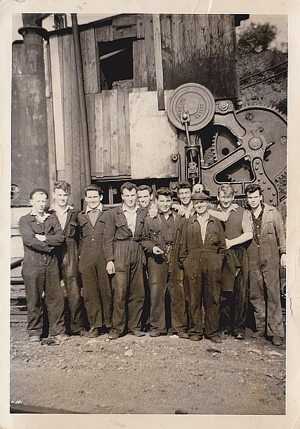 Shipyard apprentices